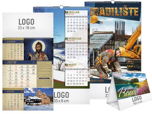 kalendari sa logoom firme