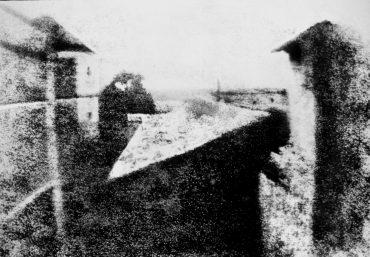 Pogled na golubarnik - prva fotografija, Nisifor Nijeps, istorija fotografije
