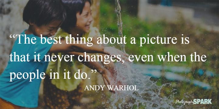 fotografija se nikada ne menja, čak i kada se ljudi promene