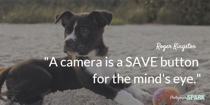 foto aparat je sigurnosno dugme