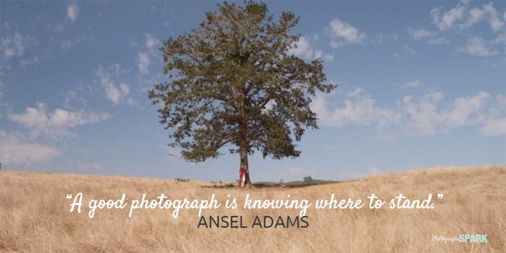 dobra fotografija je znati gde treba stati