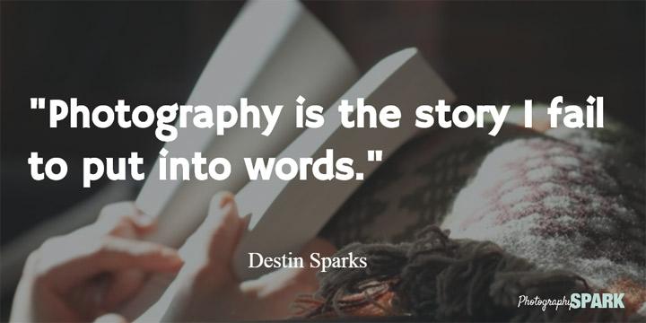 fotografija je priča koju ne mogu ispričati rečima