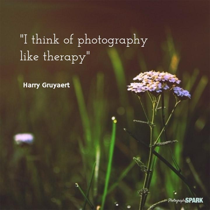 fotografija je kao terapija