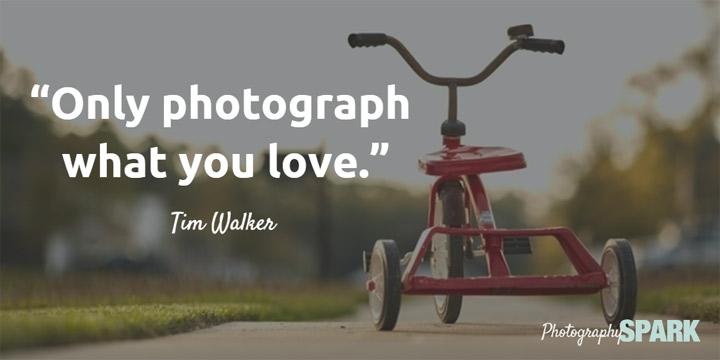 fotografiši ono što voliš