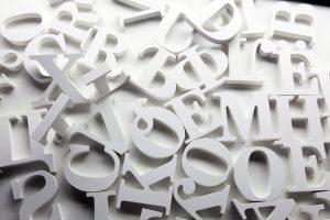 slova od stiropora